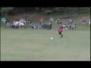 13 yaşında 40 metreden frikik golü